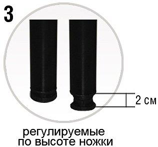 Каркас на ножках VIVA STEEL 180х200 см <strong>(СКИДКА -15%)</strong> 2