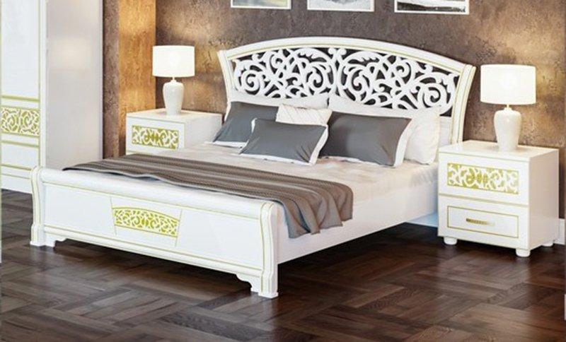 Кровать Світ Меблів POLINA NEW / ПОЛИНА НОВАЯ - 160х200 см 0