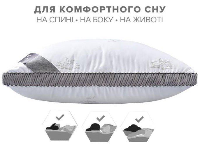 Подушка IDEIA CLASSICA SOFT 3D / КЛАССИКА СОФТ 3Д 3