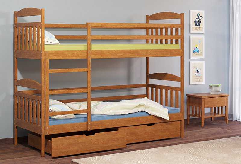Кровать двухъярусная Camelia ALTEA / АЛТЕЯ 1