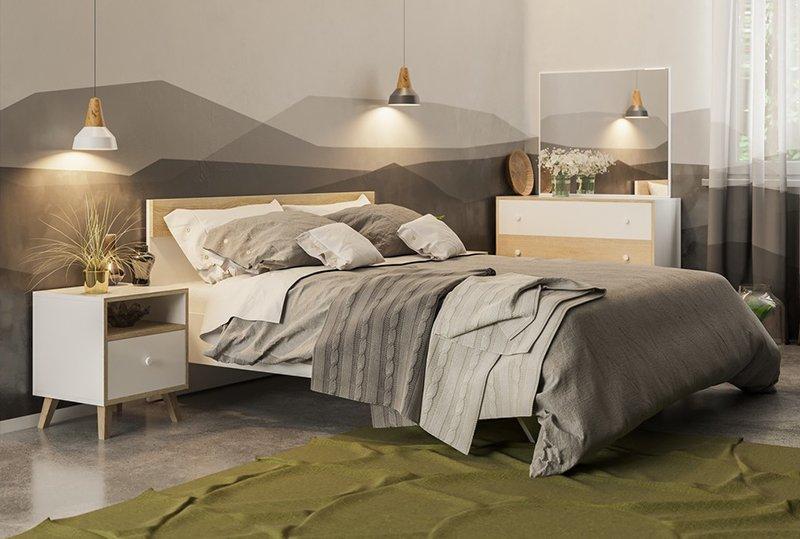 Кровать Світ Меблів ERIKA / ЭРИКА - 160х200 см 0