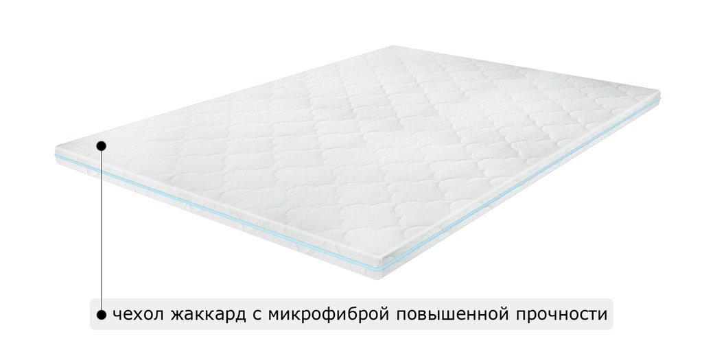 Матрас топпер SUPER MEMO / СУПЕР МЕМО 1