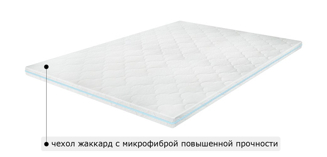 Матрас топпер FLEX 2in1 KOKOS / ФЛЕКС 2в1 КОКОС 0