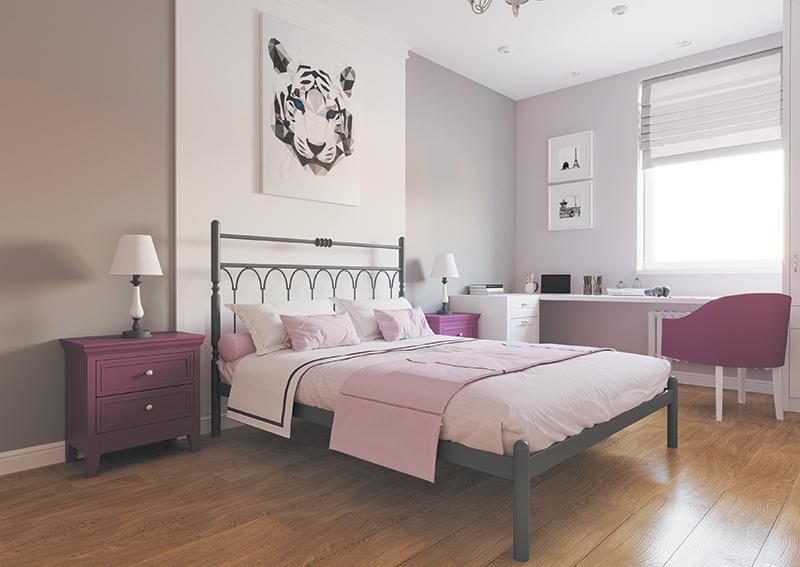 Кровать Металл-Дизайн ТИФФАНИ