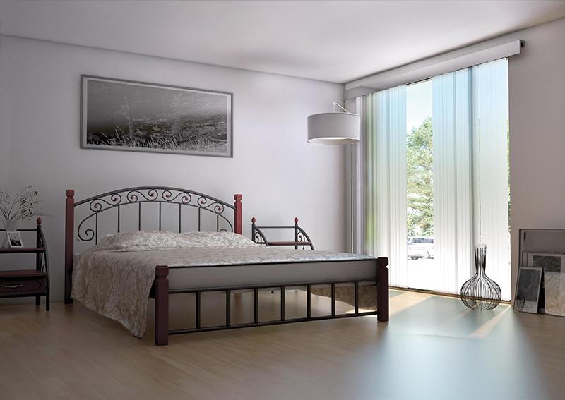Кровать Металл-Дизайн АФИНА